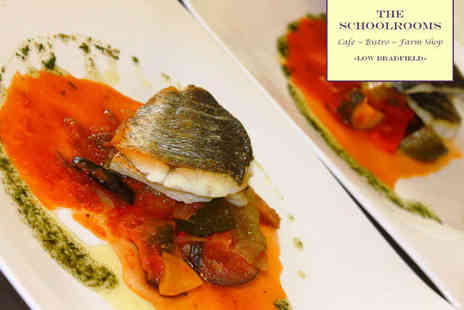 The Schoolrooms - Three Course Bistro Meal for Two - Save 56%