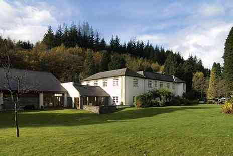 Nant Ddu Lodge Hotel - Spa day including a choice of two treatments and coffee on arrival - Save 51%