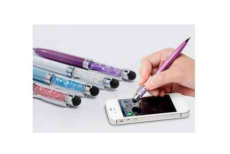 Spoil Someone - Crystal Pen in Several Colours - Save 50%