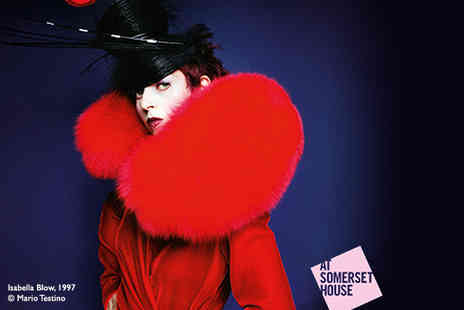 Somerset House - One off peak tkt to Isabella Blow Fashion Galore - Save 50%