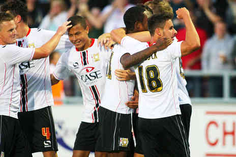 Milton Keynes Dons Football Club - Club Red Match Tickets to MK Dons v Oldham - Save 33%