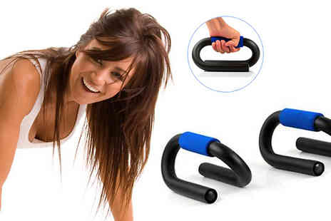 Simply Live - S shaped push up exercise grips - Save 50%
