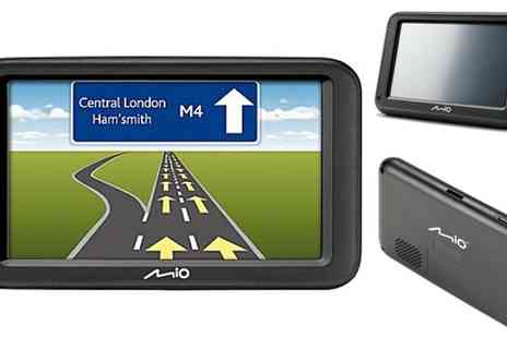 The Hut Group - Mio Moov 416LM Sat Nav Free P&P - Save 40%