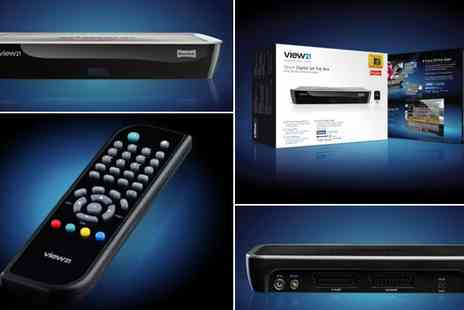 WAM Europe - View21 Freeview Smart Digital Set Top Box - Save 60%