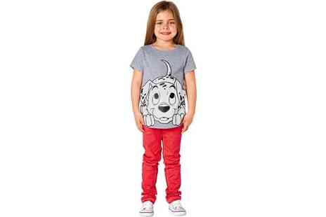 Argos - Disney Dalmatians Girls' Short Sleeve T-Shirt  - Save 63%