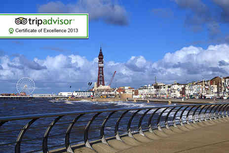 Sandford Promenade - Two night Blackpool stay for 2 including breakfast - Save 55%
