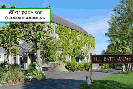 The Bath Arms - One night stay for 2 people in a superior room including breakfast - Save 41%