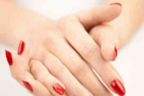 Serenity Beauty and Hair - Luxury Shellac manicure and pedicure - Save 66%