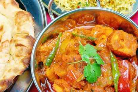 Mrs Singh - Two Course Indian Meal With Sides For Two - Save 56%
