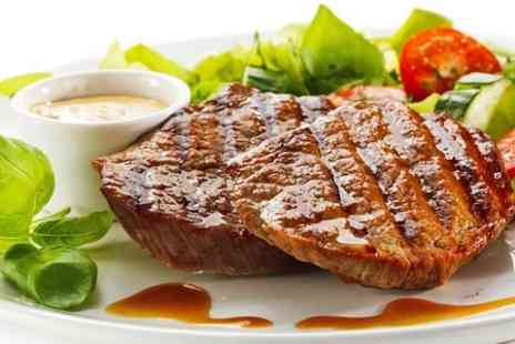 unique fish and grill - 10oz Steak With Starter or Side For Two - Save 55%