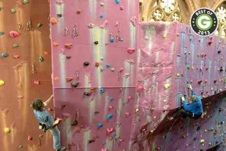 Manchester Climbing Centre - Taster Session For Two - Save 53%