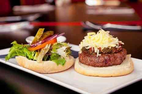 62 Love Me Do - Burger Meal With Beer For Two - Save 52%