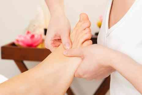 Nicola at St James Hair & Beauty - Foot Pamper Package Pedicure Foot Mask and Massage - Save 0%