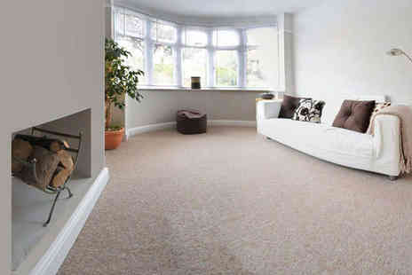 MDC Eco Cleaning - Carpet Clean for Two Domestic or Commercial Rooms - Save 66%
