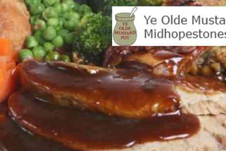 Ye Olde Mustard - Two courses of Classic Pub Fare for two - Save 60%