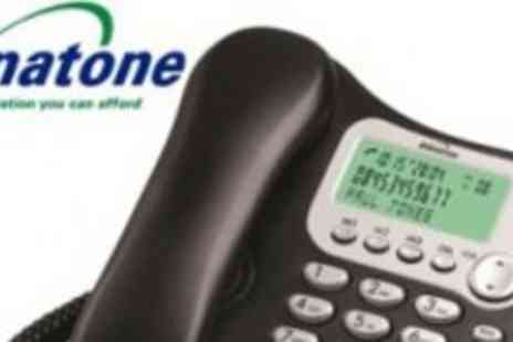Binatone - Simple Easy to use Corded Home Phone - Save 56%