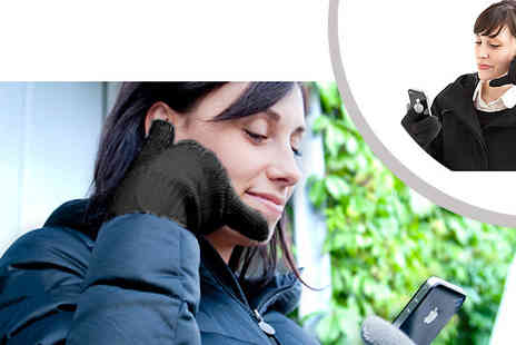 Pamper Me Store - Bluetooth talking gloves Compatible with all touch screen devices & phones with bluetooth - Save 76%