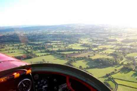 Denbigh Flight Training - Motor Glider Lesson Plus Airfield Membership - Save 52%