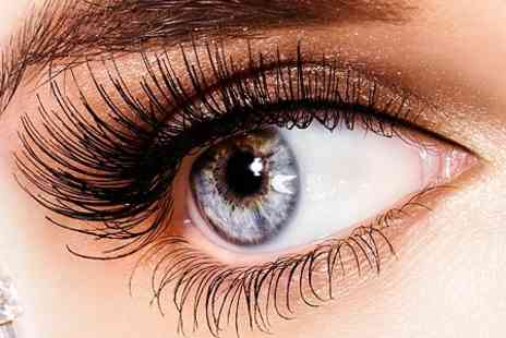 Zeba Hair & Beauty Watford - Eyelash Extensions Full set of semi permanent eyelashes using Lash FX - Save 58%