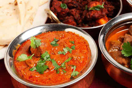 Rimjhim - Curry for Two with Rice Dish Each - Save 65%