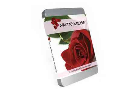 Mysweetyjar - Valentines Name A Rose Gift Tin - Save 50%
