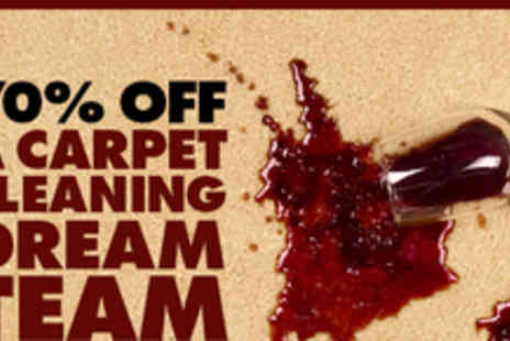 Carpet Cleaning in Manchester - Carpet cleaning dream team service - Save 62%
