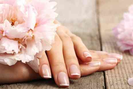 Pure Essentials Health -  Luxury manicure with option to include a pedicure - Save 42%