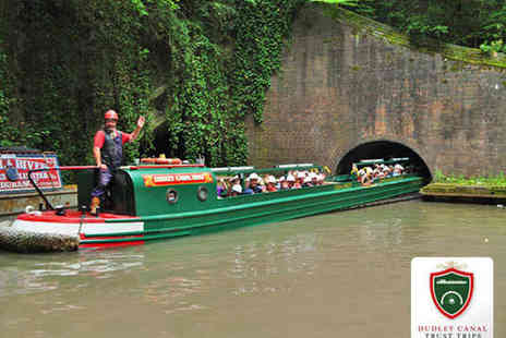 Dudley Canal Trust - Limestone Cavern Canal Boat Trip for One Person - Save 52%