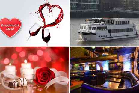 Thames River Tours - Valentines Thames cruise & disco for one - Save 62%