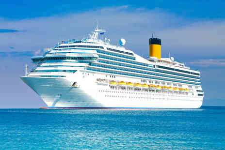 118 Cruise - Eigh night Mediterranean cruise plus - Save 38%
