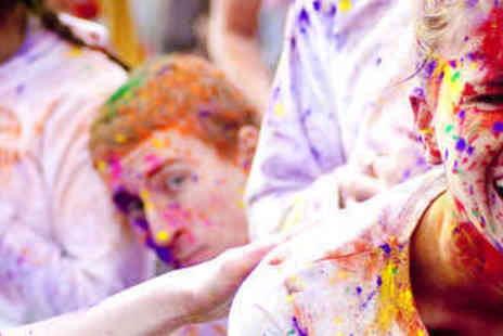 The Colour Run - Entry to Presented by Dulux with Official Race Pack - Save 12%