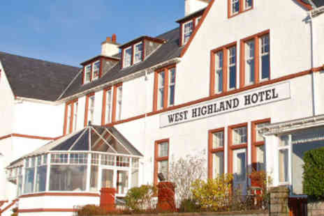 West Highland Hotel - Three nights dinner bed and breakfast for Two people - Save 43%