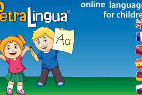 PetraLingua Publishing - Interactive Language Courses for Kids  - Save 50%