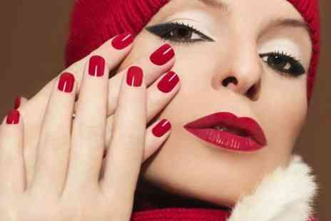 Desire Hair and Beauty� - Manicure, Pedicure or Spray Tan - Save 55%