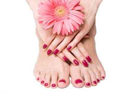 The Only Way is Wessex - Gellux Manicure or Pedicure - Save 73%