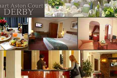 Smart Aston Court Hotel - Two Night Stay City Break in Derby - Save 52%