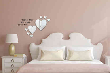 Mungai Mirrors - Personalised heart mirror - Save 63%