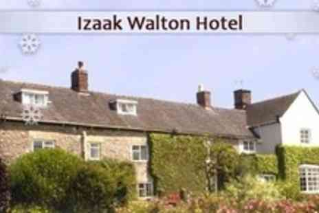 The Izaak Walton Hotel - Peak District Two Night Break For Two Celebrity Couple - Save 78%