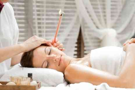 The Eastern Way Holistics - 30 minute Indian hopi ear candle treatment including facial massage - Save 57%