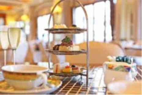 The Queens Hotel - Sparkling Afternoon Tea and Spa Access For Two - Save 50%