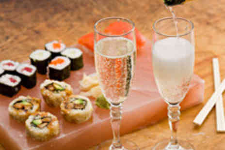 Takara Sushi - Sushi Platter and a Bottle of Prosecco for Two People - Save 64%