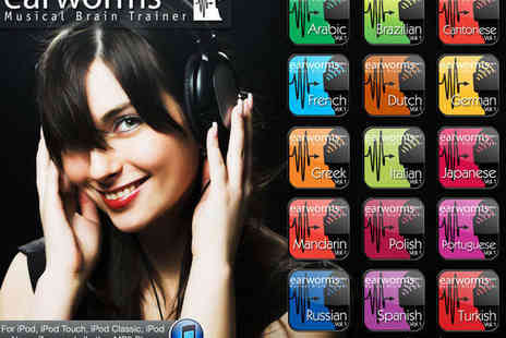 Earworms - Volume One Language Learning MP3 Download in Choice of 15 Languages - Save 50%