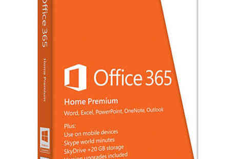 zavvi_outlet - Microsoft Office 365 Home Premium Licence Card 5 Users 1 year  - Save 25%