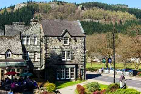 Royal Oak Hotel - Snowdonia Victorian Coaching Inn Getaway with Meals - Save 46%