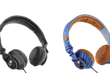 Marley - Marley Riddim Headphones in Midnight or Sky - Save 39%