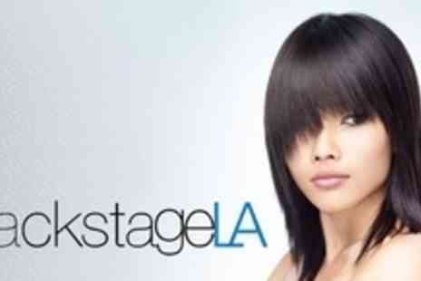 Backstage LA - Brazilian Blowdry With Finish Plus Cut - Save 72%