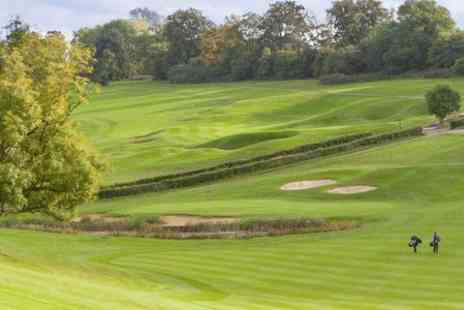 Surrey National Golf Club - Day of Golf For Two - Save 73%