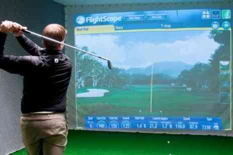 Cheshire Indoor Golf - Simulator Session For Up to Four - Save 53%