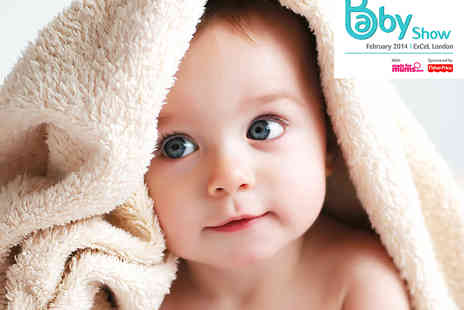 Clarion Events - Two Tickets to The Baby Show - Save 18%