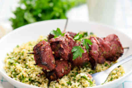 Chamisse - Two Course Lebanese Meal for Two with Wine and Coffee - Save 57%